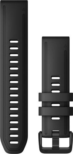 Garmin Siliconen Bandje Zwart L 20mm Main Image