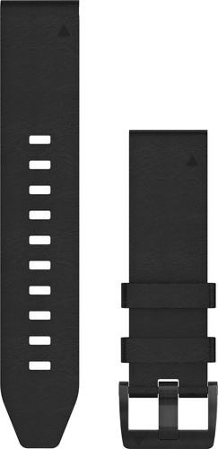 Garmin Leather Strap Black 22mm Main Image