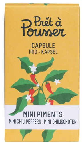 Pret a Pousser Indoor Garden Navulling Mini Chili Peppers Main Image