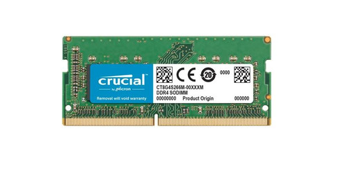 Crucial 16GB 3200MHz DDR4 SODIMM (1x16GB) Main Image