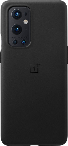 OnePlus 9 Pro Sandstone Back Cover Black Main Image