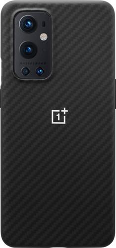 OnePlus 9 Pro Karbon Back Cover Zwart Main Image