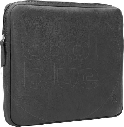 BlueBuilt 13 inch Laptophoes breedte 30 cm - 31 cm Leer Zwart Main Image