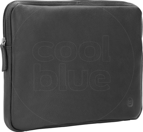 BlueBuilt 13 inch Laptophoes breedte 31 cm - 32 cm Leer Zwart Main Image