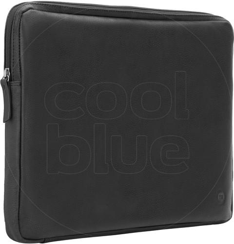 BlueBuilt 15 inch Laptophoes breedte 36 cm - 37 cm Leer Zwart Main Image