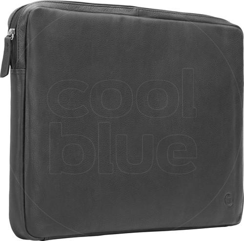 BlueBuilt 17 inch Laptophoes breedte 40 cm - 41 cm Leer Zwart Main Image