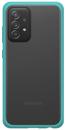 Otterbox React Samsung Galaxy A52 Back Cover Transparant met Groene Rand Main Image