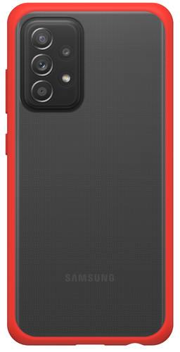 Otterbox React Samsung Galaxy A52 Back Cover Transparant met Rode Rand Main Image