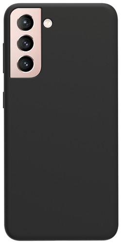 Azuri Samsung Galaxy S21 Back Cover Siliconen Zwart Main Image
