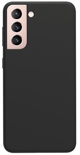 Azuri Samsung Galaxy S21 Plus Back Cover Siliconen Zwart Main Image