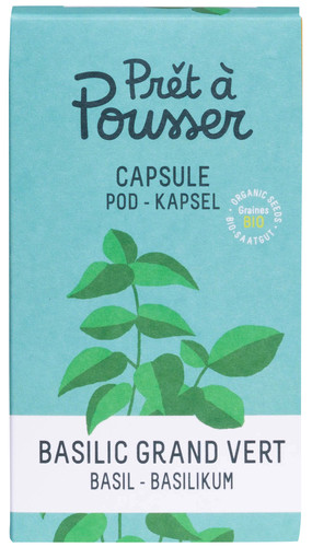 Pret a Pousser Indoor Garden Navulling Basil Main Image