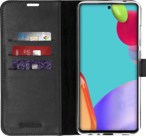 Valenta Gel Skin Samsung Galaxy A52s / A52 Book Case Black Main Image