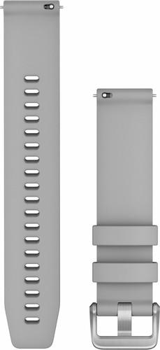 Garmin Siliconen Bandje Grijs/Zilver 20mm Main Image