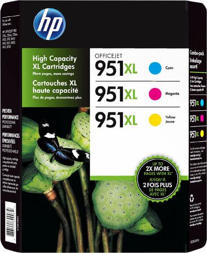 HP 951XL Cartridges Combo Pack Main Image