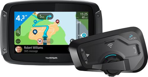 TomTom Rider 500 Europa + Cardo Scala Rider Freecom 4 Plus Single Main Image