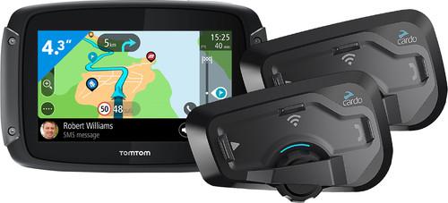 TomTom Rider 500 Europa + Cardo Scala Rider Freecom 4 Plus Duo Main Image