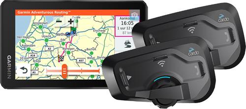 Garmin Zumo XT Motor Europa + Cardo Scala Rider Freecom 4 Plus Duo Main Image