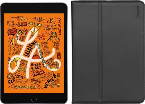 Apple iPad Mini 5 64 GB Wifi Space Gray + Targus Hoes Zwart Main Image