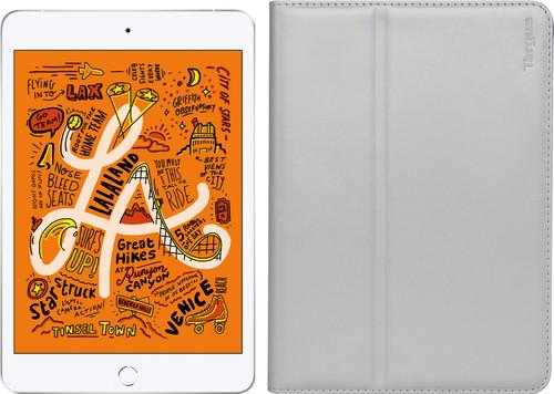 Apple iPad Mini 5 64 GB Wifi Zilver + Targus Hoes Zilver Main Image