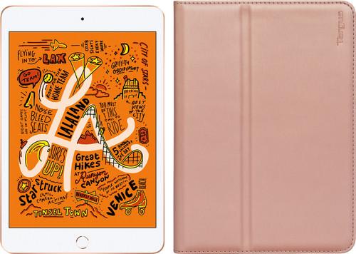 Apple iPad Mini 5 64 GB Wifi Goud + Targus Hoes Roségoud Main Image