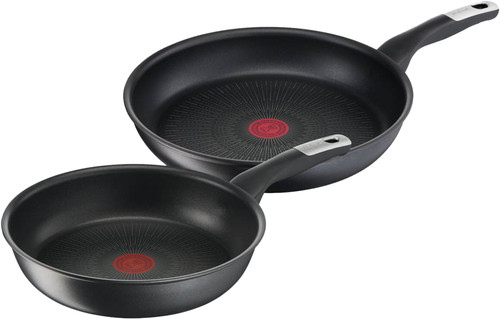 Tefal Unlimited Frying Pan Set 22cm + 28cm Main Image