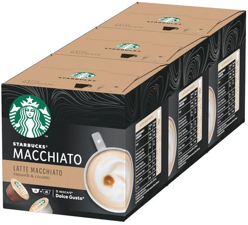 Starbucks Dolce Gusto Latte Macchiato 3 pack Main Image