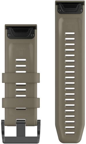 Garmin Fenix 6X Siliconen Bandje Groen 26mm back