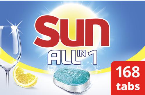 Sun All-in-1 Citroen - 7 x 24 vaatwastabletten Main Image
