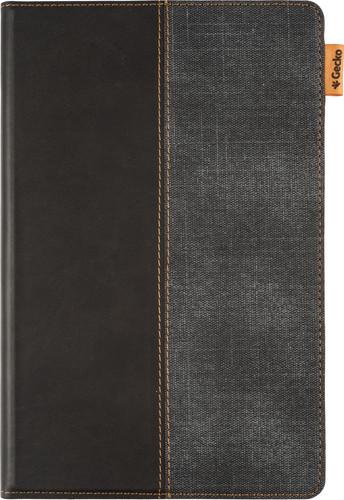 Gecko Color Twist Samsung Galaxy Tab A7 (2020) Book Case Zwart/Grijs Main Image