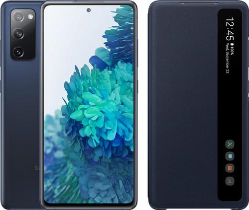 Samsung Galaxy S20 FE 128GB Blue 4G + Clear View Book Case Blue Main Image