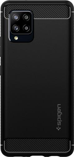 Spigen Rugged Armor Samsung Galaxy A42 Back Cover Zwart Main Image