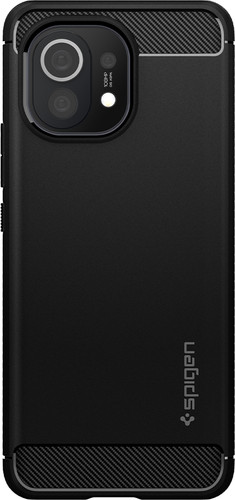 Spigen Rugged Armor Xiaomi Mi 11 Back Cover Zwart Main Image