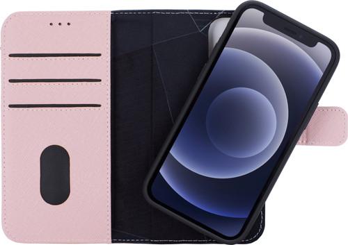 Decoded Apple iPhone 12 mini 2-in-1 Case Leer Roze Main Image