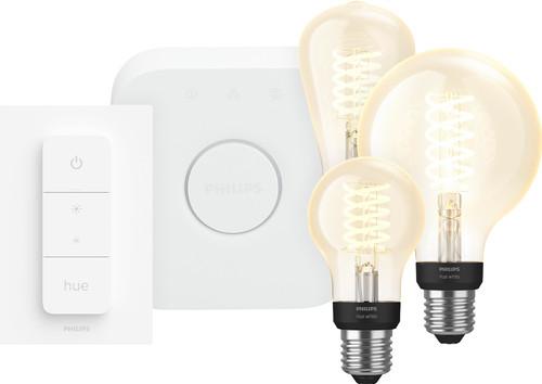 PhilipsHue Globe Warmwit Licht E27 Bluetooth+Philips Hue  Licht E27 Bluetooth Startpakket Main Image