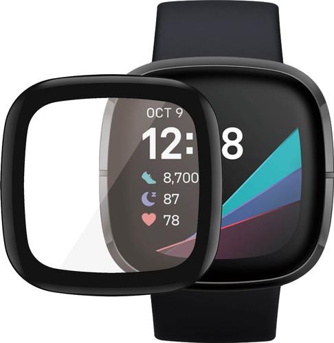 PanzerGlass Fitbit Sense, Versa 3 Screenprotector Glas Zwart Main Image