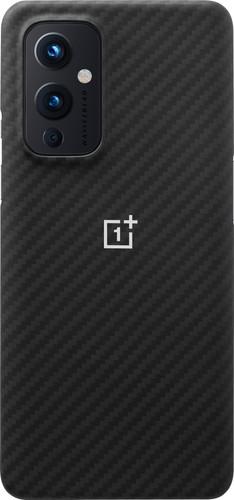 OnePlus 9 Karbon Back Cover Zwart Main Image