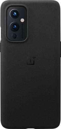 OnePlus 9 Sandstone Back Cover Black Main Image