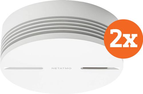 Netatmo Smart Smoke Detector (10 years) Duo Pack Main Image