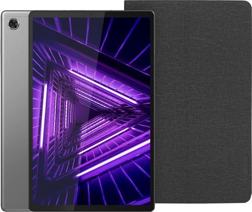 Lenovo Tab M10 Plus (2de generatie) 64GB Wifi + 4G Grijs + Lenovo Book Case Zwart Main Image