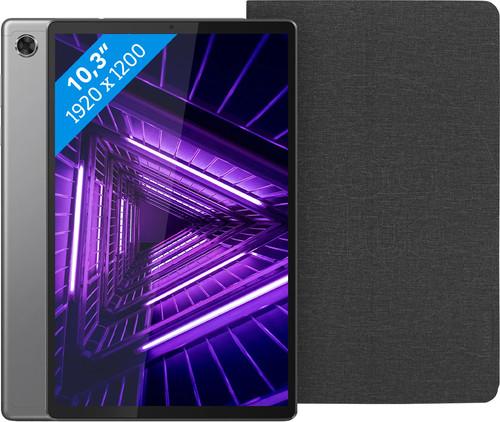 Lenovo Tab M10 Plus (2de generatie) 64 GB Wifi Grijs + Lenovo Book Case Zwart Main Image