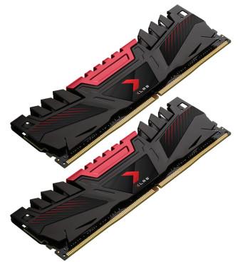 PNY Desktop Memory XLR8 32GB DDR4 DIMM 3200MHz CL16 (2x16GB) Main Image