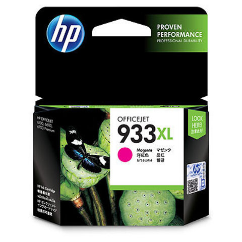 HP 933XL Officejet Ink Cartridge Magenta (CN055AE) Main Image