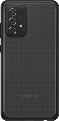 Otterbox React Samsung Galaxy A72 Back Cover Transparant met Zwarte Rand Main Image