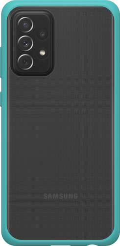 Otterbox React Samsung Galaxy A72 Back Cover Transparant met Groene Rand Main Image