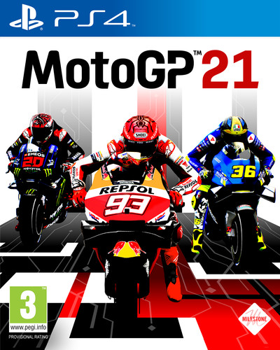 MotoGP21 PS4 Main Image
