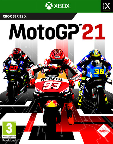 MotoGP 21 Xbox Series X Main Image