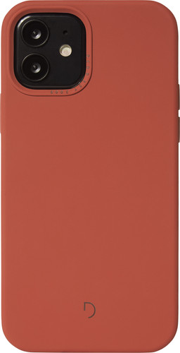 Decoded Apple iPhone 12 / 12 Pro Back Cover met MagSafe Magneet Rood Main Image
