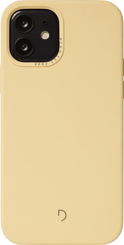 Decoded Apple iPhone 12 / 12 Pro Back Cover met MagSafe Magneet Lichtgeel Main Image