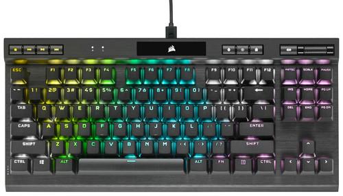 Corsair K70 RGB TKL Champion Series Cherry MX Speed Gaming Toetsenbord Main Image