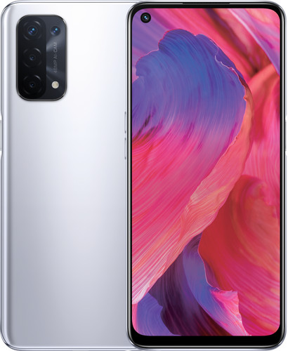 OPPO A74 128GB Zilver 5G Main Image